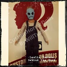 Leslie Vernon Custom Horror Doll Behind The Mask Ooak 12 Inch Action Figure