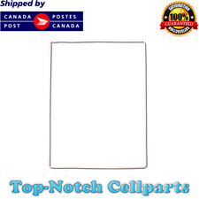 iPad 2 3 4 Digitizer LCD screen Bezel Plastic Mid-Frame with Adhesive - White