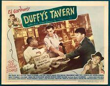 "Alan Ladd Veronica Lake Bing Crosby ""Duffy's Tavern""Vintage 1945 Lobby Card"