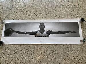 Vintage 90's Michael Jordan Nike Poster WINGS Authentic Vintage Bulls