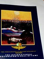 1993 INTERNATIONAL MOTORSPORTS HALL OF FAME INDUCTION PROGRAM MAGAZINE! ALLISON!