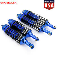 4X Metal Front Rear Shock Absorber For 1/10 Traxxas Slash 4x4 4WD RC Crawler USA
