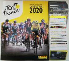 PANINI, Tour de France 2020, complete loose sticker set + cards + empty album