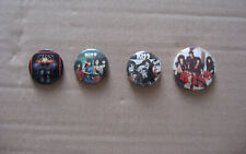 VINTAGE 80s KISS button job lot badge pin hard rock Stanley Simmons Frehley