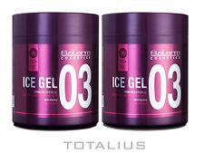Salerm Ice gel 500 ml cera capilar - 2 unidades