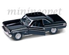 ROAD SIGNATURE 92708 1964 64 FORD FALCON 1/18 DIECAST MODEL CAR BLACK