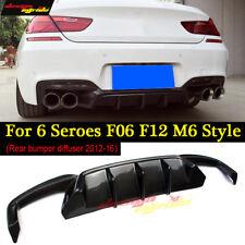 F06 F12 Rear Lip Diffuser Carbon BMW F06 F12 M Sport 640i 650i Lip Diffuser 12+