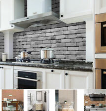 20cmx100cm Self Adhesive Tile Wall Sticker 3D Decal DIY Floor Kitchen Home  Decor
