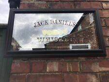More details for vintage jack daniels whiskey mirror old time tennessee bar interior design pub