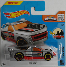 Hot Wheels - Fig Rig silbermet./rot Neu/OVP