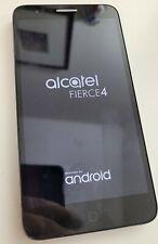 New listing Alcatel Fierce 4 16Gb 5056N Black Smartphone Gsm Unlocked MetroPcs At&T T-Mobile