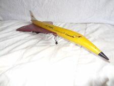RARE ancien jouet avion supersonique concorde SANCHIS SPAIN AIR FRANCE N-290