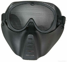 Airsoft & Paintball Game Protection Metal Mesh Mask