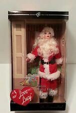 I Love Lucy Santa The Christmas Show Lucille Ball Barbie ( in mint condition)