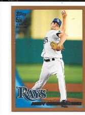 2010 Topps Copper Andy Sonnanstine #535 #'d 351/399 Rays