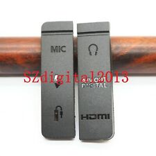 Alta Calidad nueva USB HDMI interfaz Cubierta de Goma para Canon EOS 5D Mark III/5D3