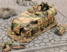 """""""Knocked- Out"""" SdKfz 251/1(Neu) with x2 Casualties, Pro-Built,Custom, 20mm-1/76!"""