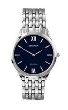Sekonda Mens Blue Dial Stainless Steel Bracelet Watch 1609 RRP £59.99