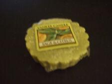 Yankee Candle Sage & Citrus Scent #579471 Round Warmer Melt Tart