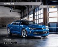 2016 Chevrolet Camaro 20-page Original Car Sales Brochure Catalog - SS RS