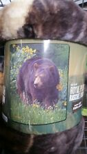 Bear Scent of Spring American Heritage Woodland Plush Raschel Throw blanket