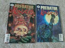 Predator - Kindred #1 and #2 (Lot of 2) - Dark Horse comic book