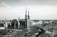 Vintage Hungary Postcard, Békéscsaba Cathedral, St Antony of Padua