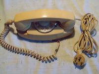 Vintage Bell Princess  Rotary Telephone . Beige.