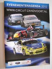 Evenementenagenda Circuit Park Zandvoort 2010