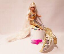 Vintage Barbie Fashion Doll - Barbie Jewel Hair Mermaid Doll  #815