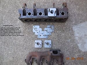 Ford Ranger 2.3L Turbo E6 Exhaust Manifold FLIP FLANGES Keep Your A/C!