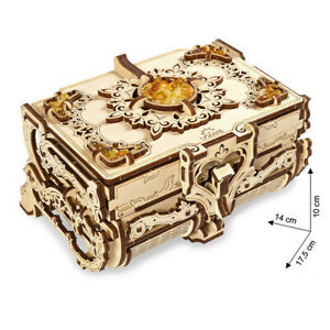 Ugears - Wood Model Building Amber Box Amber Casket 189 Pieces