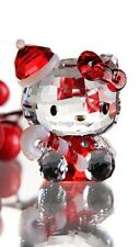 SWAROVSKI CRYSTAL / SANRIO HELLO KITTY SANTA 1142935 MINT BOXED RETIRED