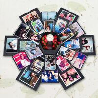 Romantic Surprise Explosion Box Anniversary Scrapbook DIY Photo Album Gift US