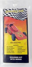 "BSA Pinewood Derby ""Black Widow"" Designer Kit w/Pre-Cut Wedge - PineCar #P420"