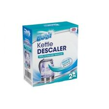 Duzzit All Purpose Descaler for Coffee Kettle Iron Limescale Cleaner Remover 40g