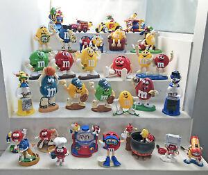 M&M dispenser collection - 30 wonderful collectables - excellent condition