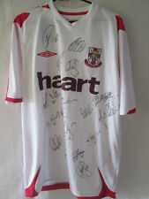 Lincoln City 2008-2009 Squad Signed Away Football Shirt with COA /12177