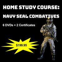 Home Study Course: Navy Seal Combatives (DVDs + Certs)