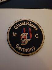 Ghostriders Mc Patch Aufnäher Aufbügler