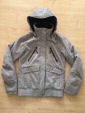 34d4c1e97 Womans Ladys Decathlon Quechua Jacket Coat Grey Size S
