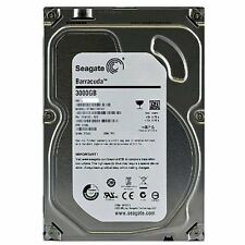 Seagate Barracuda ST3000DM001 3 TB Internal Hard Drive - Bulk - SATA/600 - 7200