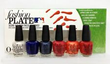 OPI - Mini FASHION PLATE- HITTERS PACK - MLB Collection 2014- 6 Colors x 1/8oz