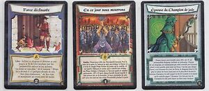 L5R - Packung 3 Karten Uncommons - Legend Of The Five Rings ™ -