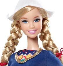 2012 Pink Label-Coll Edn-Holland/Netherlands Barbie w/Holland Lop Rabbit-MINT