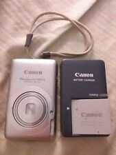 Canon Powershot SD1400is Digital Elph.Canon charger& battery.Tested 100% A-OK.