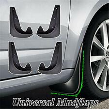 4Pcs Front & Rear Universal EVA Plastic Car Mud Flaps Splash Guards 250X180mm