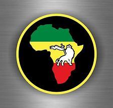 Lion de Juda-rastafarienne Reggae-Voiture Auto Fenêtre Autocollant Vinyle Autocollant 10049
