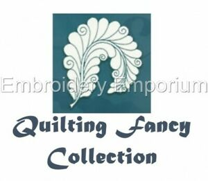 QUILTING FANCY COLLECTION - MACHINE EMBROIDERY DESIGNS ON CD OR USB