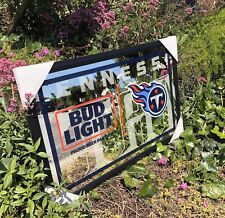 New listing Bud Light Nfl Tennessee Titans Football Beer Bar Mirror Man Cave Pub New